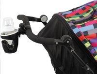 Dreambee Porte-gobelet pour poussette ou buggy noir-Image 1