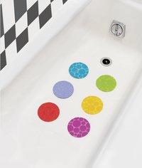 Munchkin Ronds antidérapants pour le bain Grippy Dots - 6 pièces-Image 1