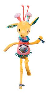 Lilliputiens Rammelaar Zia de giraf-Vooraanzicht