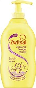 Zwitsal Gel nettoyant sans savon 400 ml