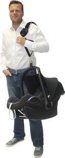 Dooky Bandoulière Carrier pour siège-auto portable