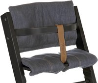 Treppy Chaise haute noir-Détail de l'article