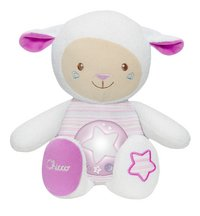 Chicco Peluche pour dormir Mouton rose-commercieel beeld