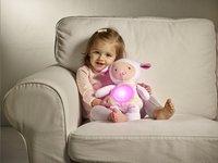 Chicco Peluche pour dormir Mouton rose-Image 1