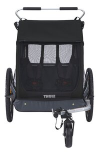 Thule Fietskar Coaster 2 XT Black-Vooraanzicht