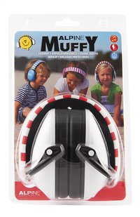 Alpine Casque antibruit Muffy rouge/blanc-Avant