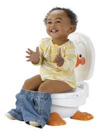 Fisher-Price 3-in-1 muzikaal potje Ducky potty wit-Afbeelding 1