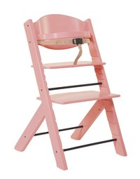 Treppy Chaise haute rose-Avant