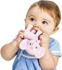 Infantino Bijtspeeltje Squeeze and Teethe Pink elephant-Afbeelding 1