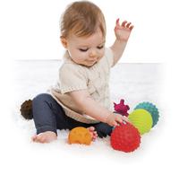 Infantino Set de jeu Sensory Balls, Blocks & Buddies - 20 pièces-Image 2