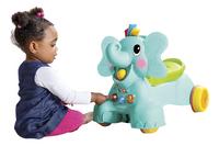 Infantino Loopwagen Sensory 3 in 1 Ride On Elephant blauw/groen-Afbeelding 2