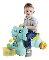 Infantino Loopwagen Sensory 3 in 1 Ride On Elephant blauw/groen-Afbeelding 3