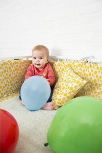 Trixie Parklegger Balloon Yellow geel-Afbeelding 1