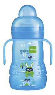 MAM Gobelet d'apprentissage Trainer+ 220 ml bleu