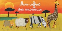 Boek Mon coffret des animaux-Vooraanzicht