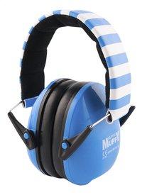 Alpine Oorbeschermers Muffy blauw/wit-Linkerzijde