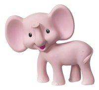Infantino Bijtspeeltje Squeeze and Teethe Pink elephant-Vooraanzicht