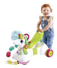 Infantino Loopwagen Sensory 3 in 1 Ride On Unicorn-Afbeelding 1