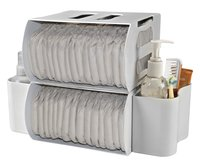 Prince Lionheart Boîte de rangement pour langes Diaper Depot - 2 pièces-Image 1