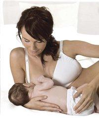 Carriwell Soutien-gorge d'allaitement blanc S-Image 3