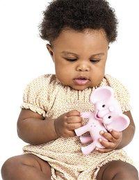 Infantino Bijtspeeltje Squeeze and Teethe Pink elephant-Afbeelding 2