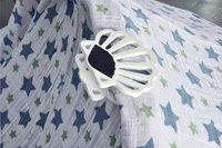 Isi Mini Attache pour poussette/buggy Clam-P - 2 pièces blanc-Image 1