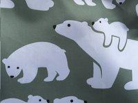 Bundle Bean Multifunctioneel voetenzeil ijsbeer munt/wit-Artikeldetail