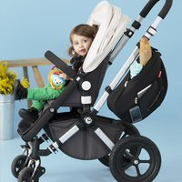 Skip*Hop Sac de rangement Grab & Go Stroller Saddlebag black