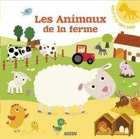 Babyboek Les p'tits tout doux, Les animaux de la ferme