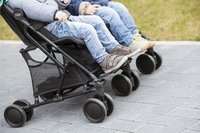 Britax Römer Buggy Duo Holiday double steel grey-Image 1