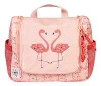 Lässig Toiletzak Flamingo peach-Vooraanzicht