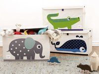 3Sprouts Speelgoedkoffer krokodil-Afbeelding 1