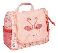 Lässig Toiletzak Flamingo peach-Linkerzijde