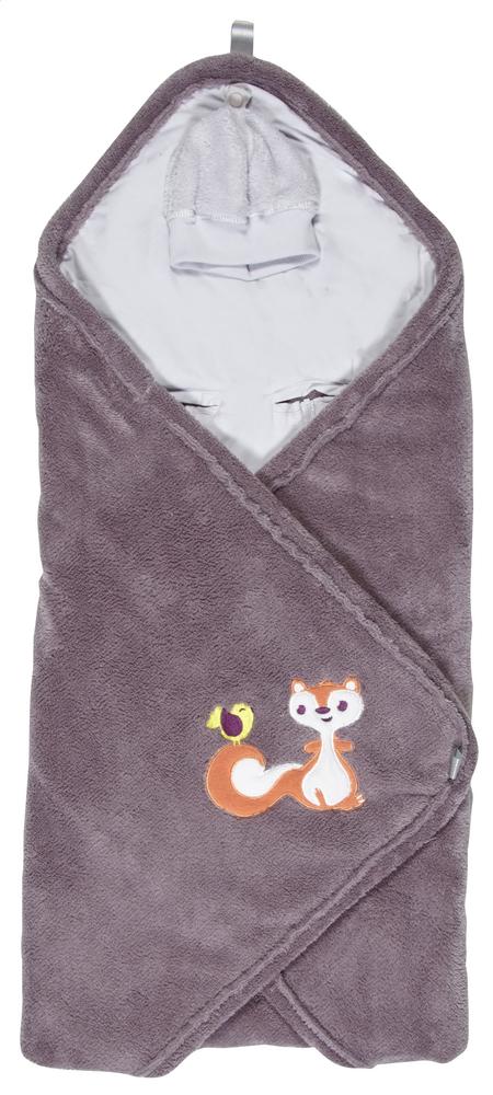 Image pour Dreambee Couverture enveloppante Ayko taupe à partir de Dreambaby