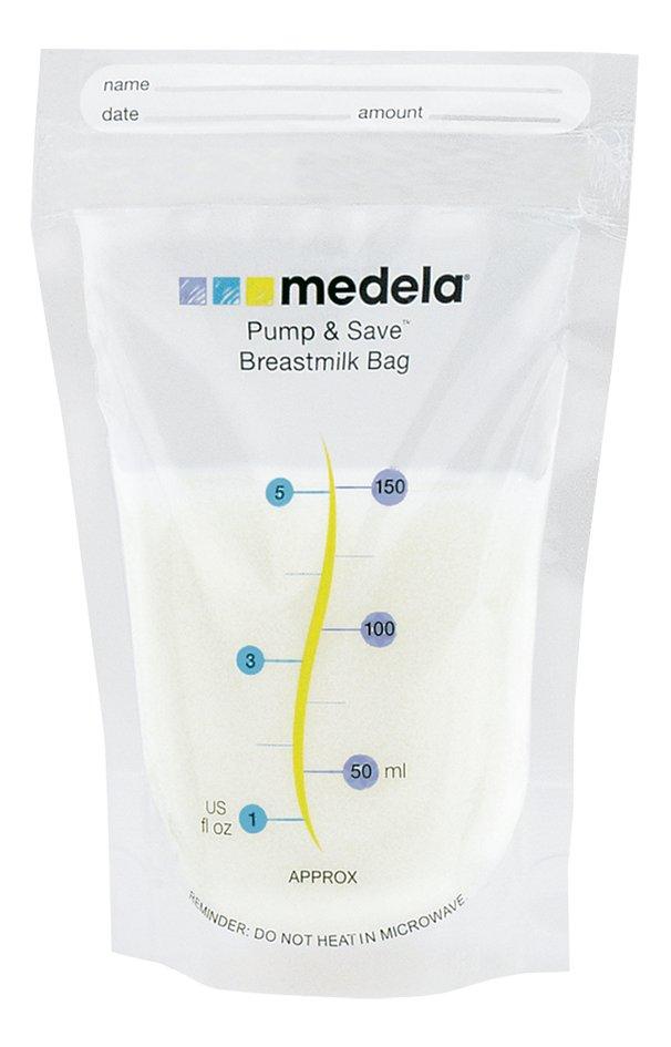 Afbeelding van Medela Bewaarzakjes Pump & Save 150 ml - 20 stuks from Dreambaby