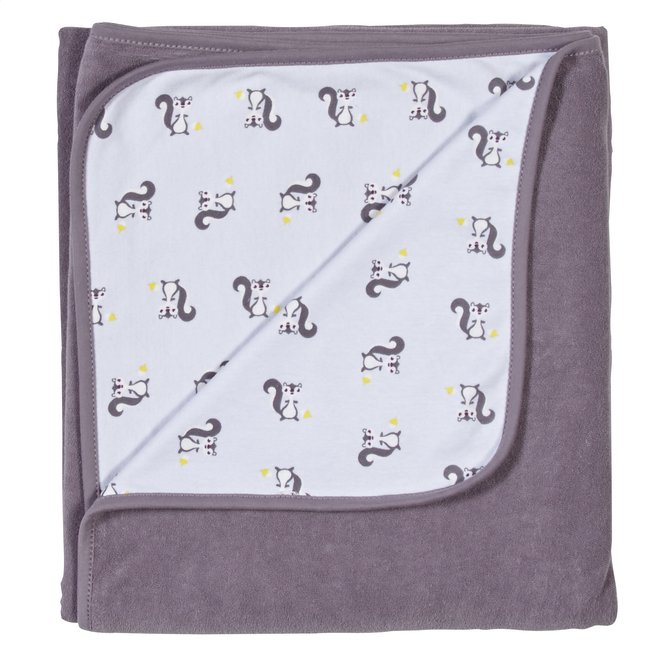 Image pour Dreambee Couverture pour lit Ayko taupe coton/polyester à partir de Dreambaby