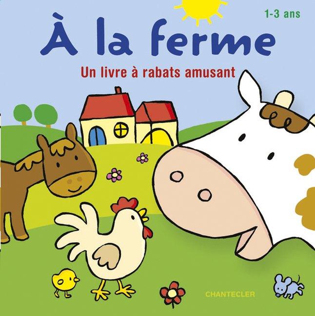 Afbeelding van Babyboek À la ferme : un livre à rabats amusant from Dreambaby