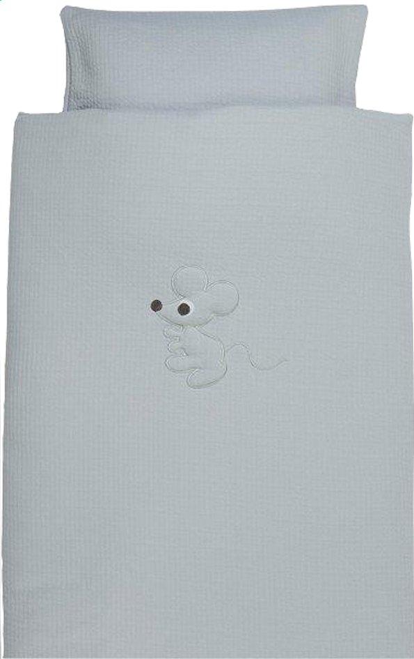 Afbeelding van Pericles Dekbedovertrek voor wieg of park Mouse Grey katoen from Dreambaby