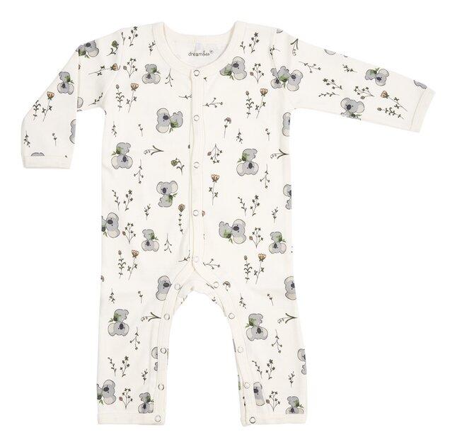 Dreambee Pyjama Kai Flower gebroken wit
