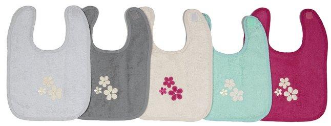 Afbeelding van Dreambee Slabbetje Essentials bloem met velcrosluiting - 5 stuks from Dreambaby