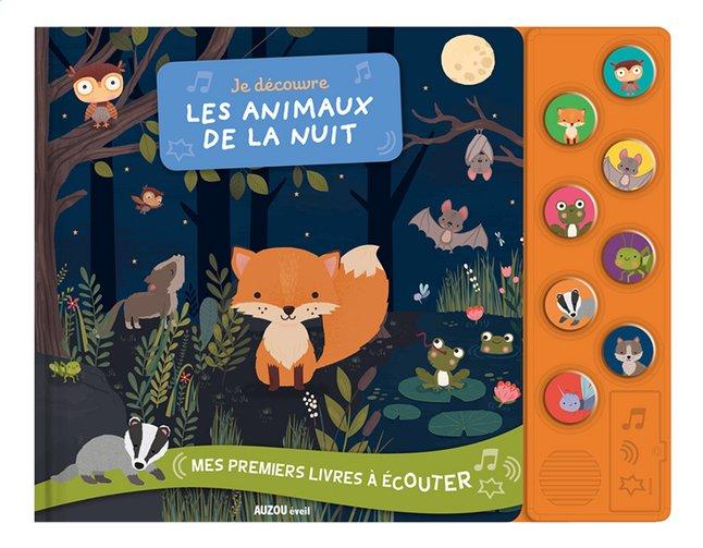 Afbeelding van Babyboek Je découvre les animaux de la nuit from Dreambaby