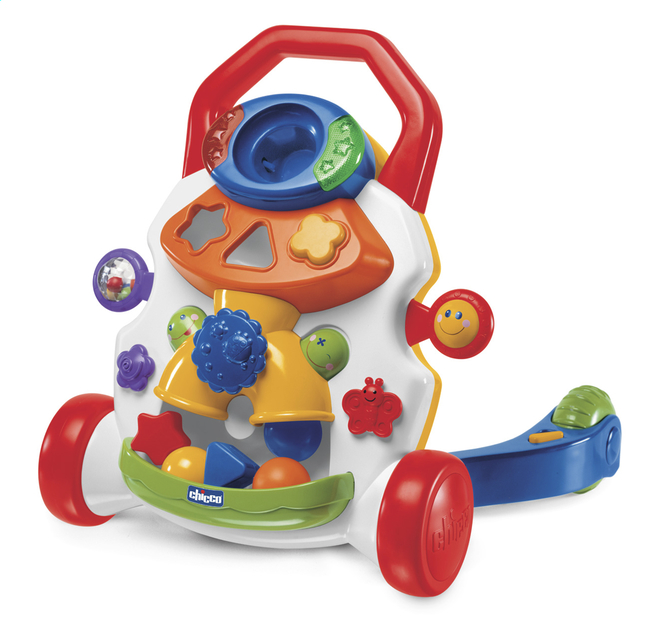 Afbeelding van Chicco Duwwagentje Baby Steps Activity Walker wit from Dreambaby