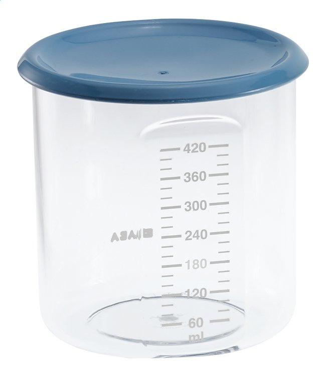 Afbeelding van Béaba Bewaarpotje Maxi + Portion blauw 420 ml from Dreambaby