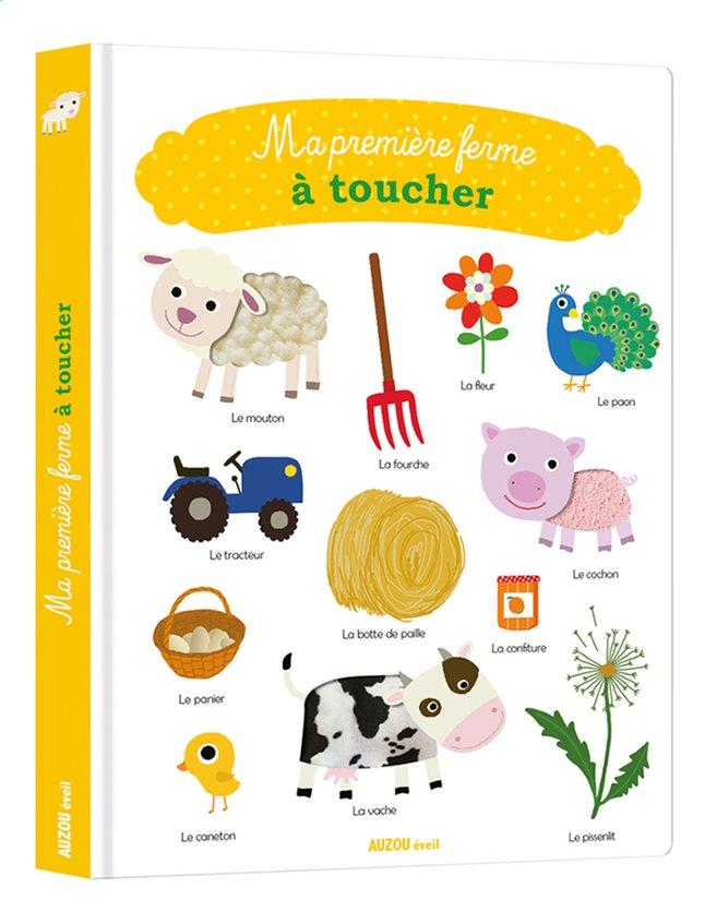 Afbeelding van Babyboek Ma première ferme à toucher from Dreambaby