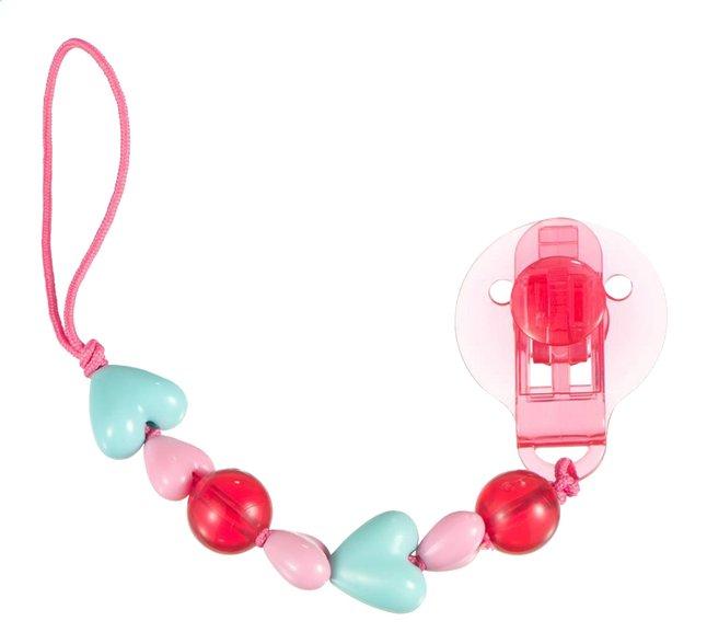 Image pour Difrax Attache-sucette avec petits coeurs à partir de Dreambaby