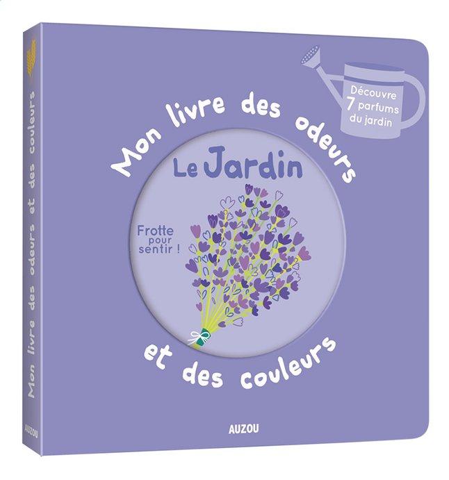 Babyboek Mon livre des odeurs Le jardin