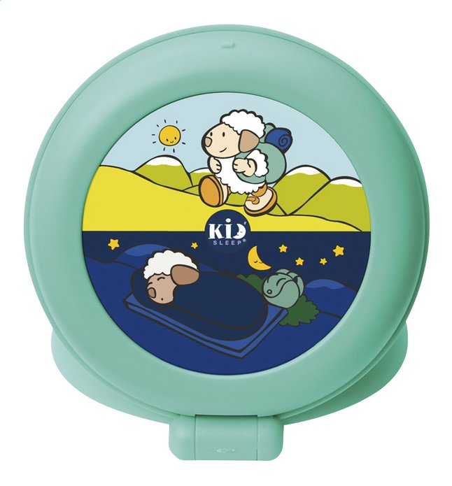 Image pour Claessens'Kids Réveil de voyage Kid'Sleep Globetrotter vert clair à partir de Dreambaby