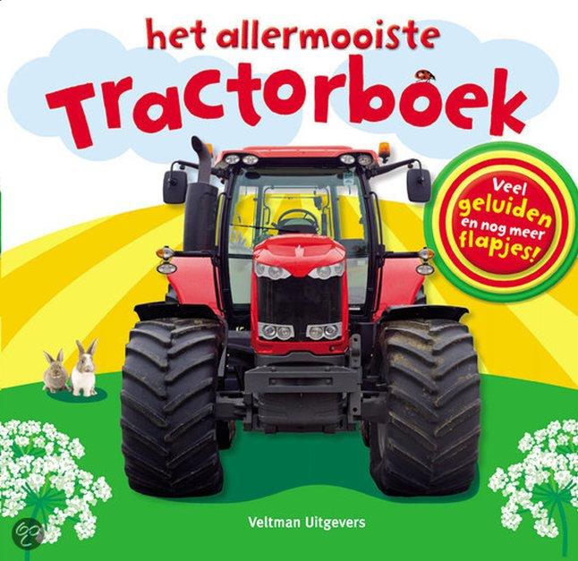 Afbeelding van Babyboek Het allermooiste tractorboek - Dawn Sirett from Dreambaby