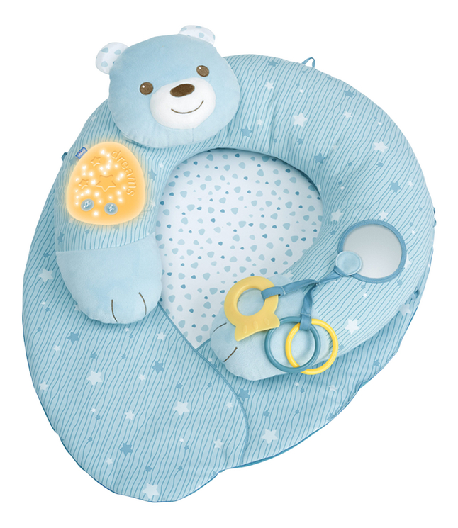 Chicco Speeltapijt My First Nest blauw