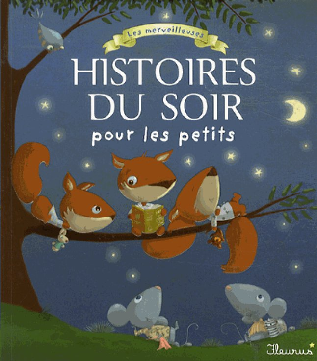 Afbeelding van Babyboek Les merveilleuses histoires du soir pour les petits from Dreambaby